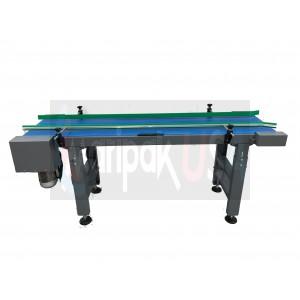 "SMART Sync - Motorized Flat Belt Conveyor - 18"" x 118"""