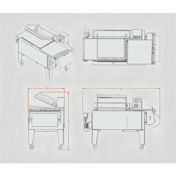 Maripak - LMC Series - Semi-Automatic - L-Sealer - 5844-H